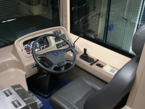 Full view of the Driver's station - image courtesy of Scania Malaysia