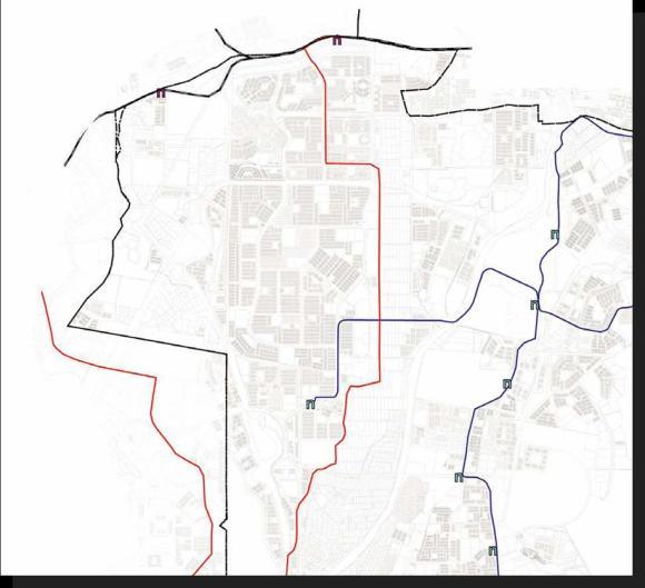 Transit and Rail routes within the Subang Jaya Draft Local Plan