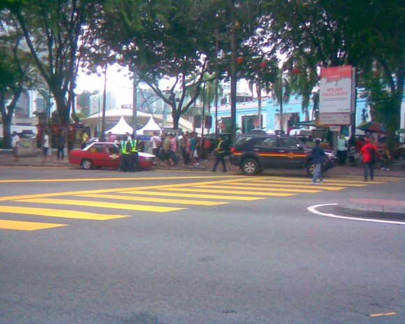 JPJ summons at Central Market