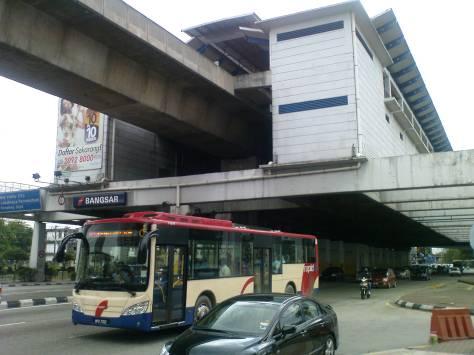 LRT Bangsar Station