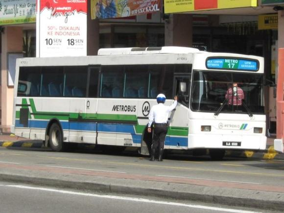 JPJ Summon Metrobus in KL