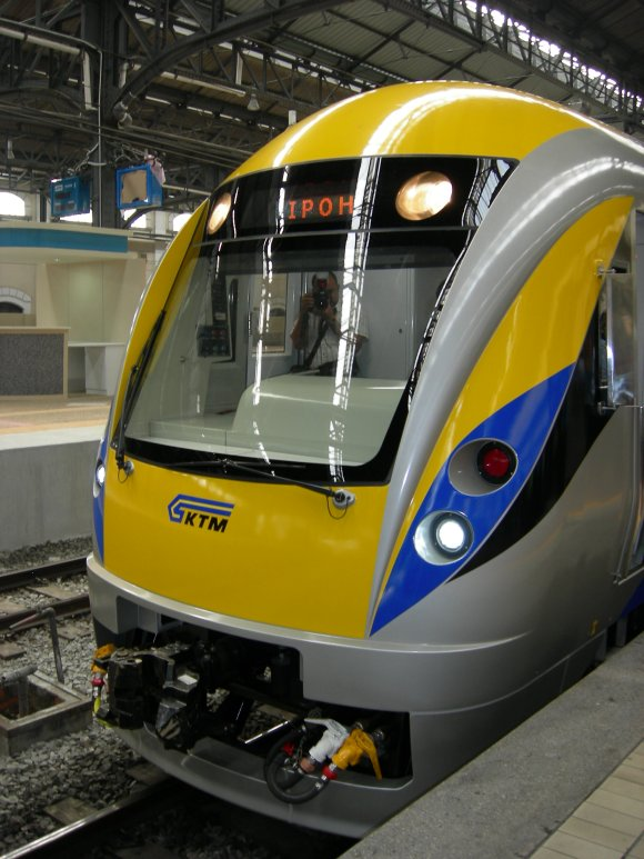 A view of the ETS Trainset